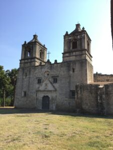 The church at Mission Concepcion