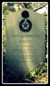 John S. Menefee grave