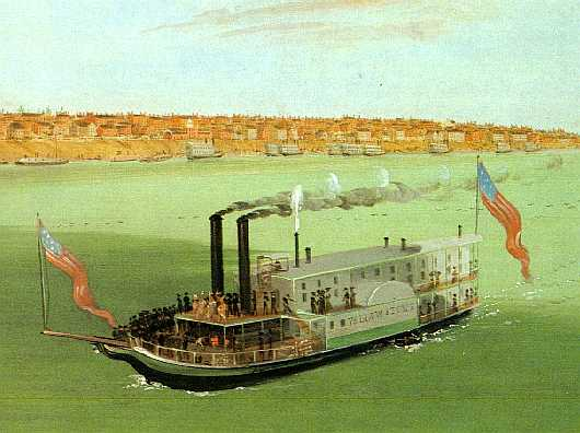 Ep. 37: The Steamboat Yellowstone, Engine of Manifest Destiny