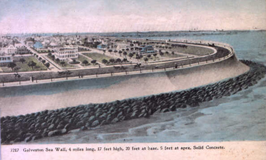 EP. 40 Raising Galveston and Walling Off the Sea